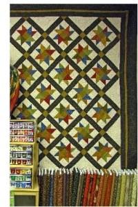 Navaho Rose Quilt Pattern - By Cynthia Rang