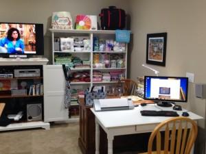 Quilt Room - Computer Setup
